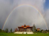 美國.橄欖山.聖殿.彩虹